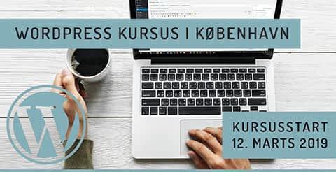 WordPress kursus København 2019