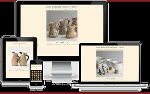 Hjemmeside Fulby Keramik WordPress Design Interactivedesign
