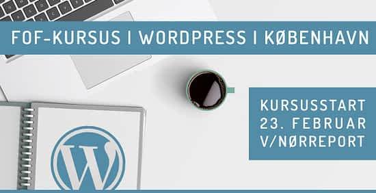 WordPress kursus i København 2020 - februar