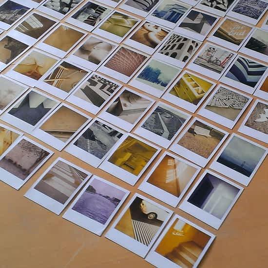 Polaroid billeder fra sx70.dk - Fotograf: Lars Bregendahl Bro