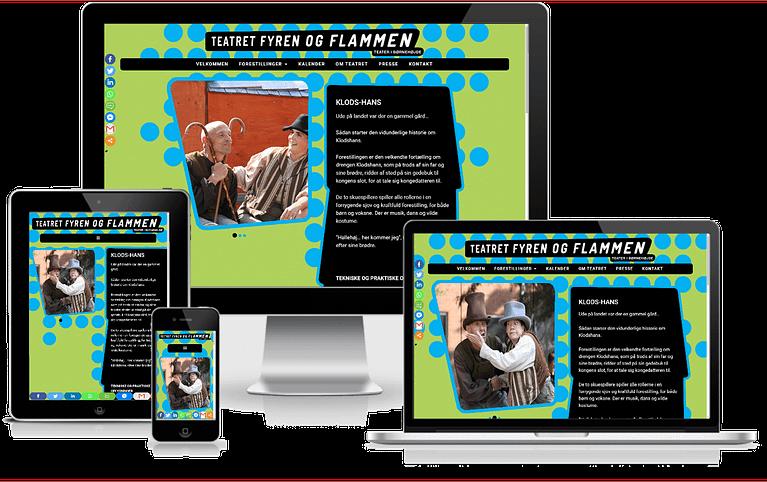 Wordpress Hjemmeside Boerneteater Fyren Og Flammen4