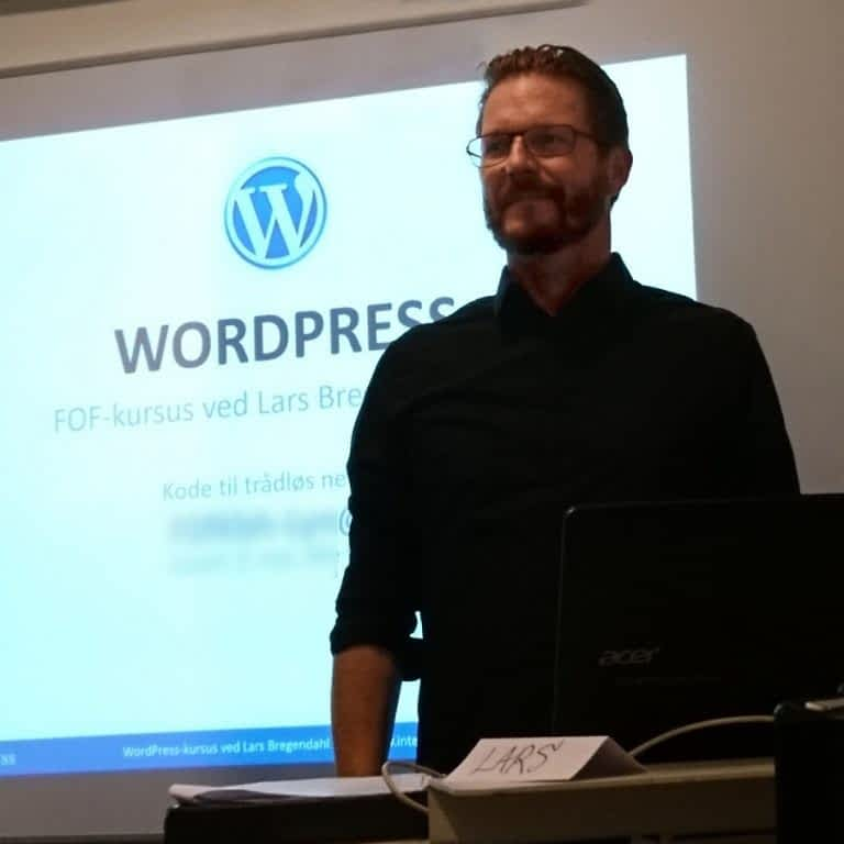 Wordpress kursus underviser Lars Bregendahl Bro - København
