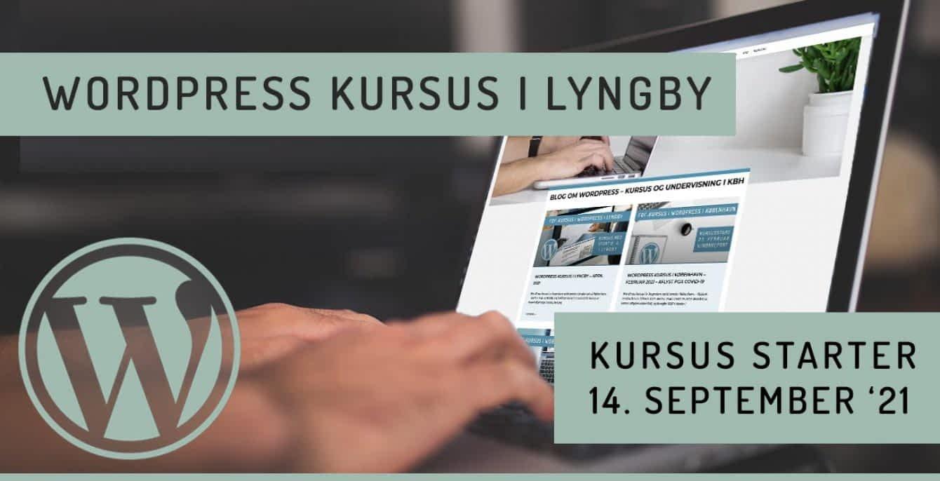WordPress kursus i Lyngby nær København